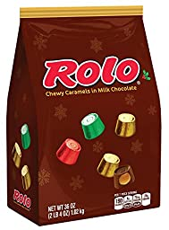 ROLO Holiday Chewy Caramels in Milk Chocolate (36-Ounce Bag)
