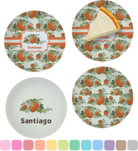 Pumpkins Set of Appetizer / Dessert Plates
