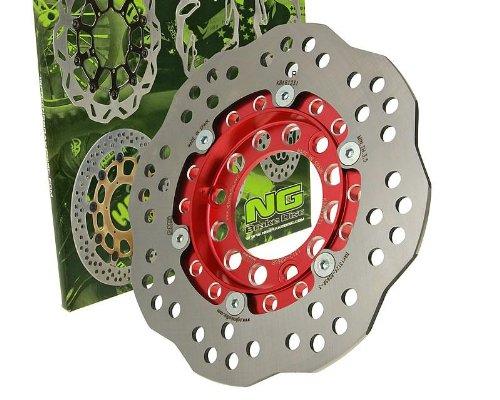 NG Brake Disc Bremsscheibe NG Wavy 190mm für REX (Jinan Qingqi, Shenke) RS 1000 125ccm