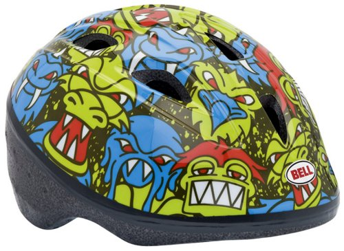 Bell Infant Sprout Bike Helmet (Monster Mash/Blue-Green)