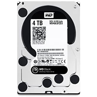 Western Digital WD Black 3.5inch 4TB 64MBキャッシュ SATA6.0G 7200rpm WD4003FZEX
