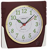 Orpat Beep Alarm Clock (Burgundy, TBB-357)
