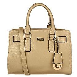 Cathy London Women's Handbag (Gold,Cathy-16)