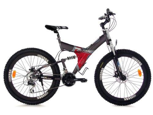 leplus07 avis avis vtt tout suspendu 26 39 39 g titan gris tc 50 cm ks cycling en ligne. Black Bedroom Furniture Sets. Home Design Ideas