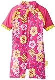 Tapa antipolvo para la entrada con mangas para bebé Banz Diseño de chica desnuda en traje de baño para el sol diseño en forma de flor, Sunblossom, 3-6 los meses de carcasas de: Sunblossom tamaño de la funda de: 3-6 los meses de (con mangas para bebé/