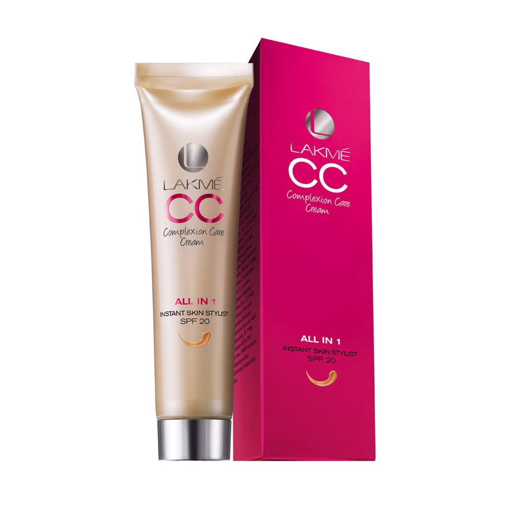 amazon Lakme Complexion Care Face Cream, Beige, 30g  Rs     145