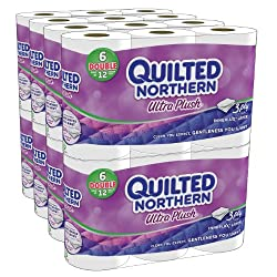 Funny product Quilted Northern Ultra Plush Bath Tissue, 48 Double Rolls