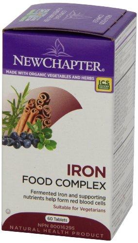 New Chapter新章 有机食物补铁片 60片图片