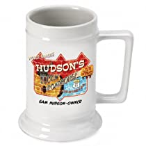 Personalized 16 oz. Roadhouse Beer Stein (Set of 32)