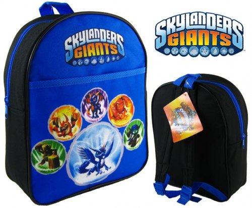 Skylanders Giants Blue School Backpack front-954650