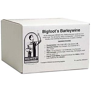 Bigfoot's Barleywine w/ **Fermentis Safale US-05 11.5 gm dry yeast**