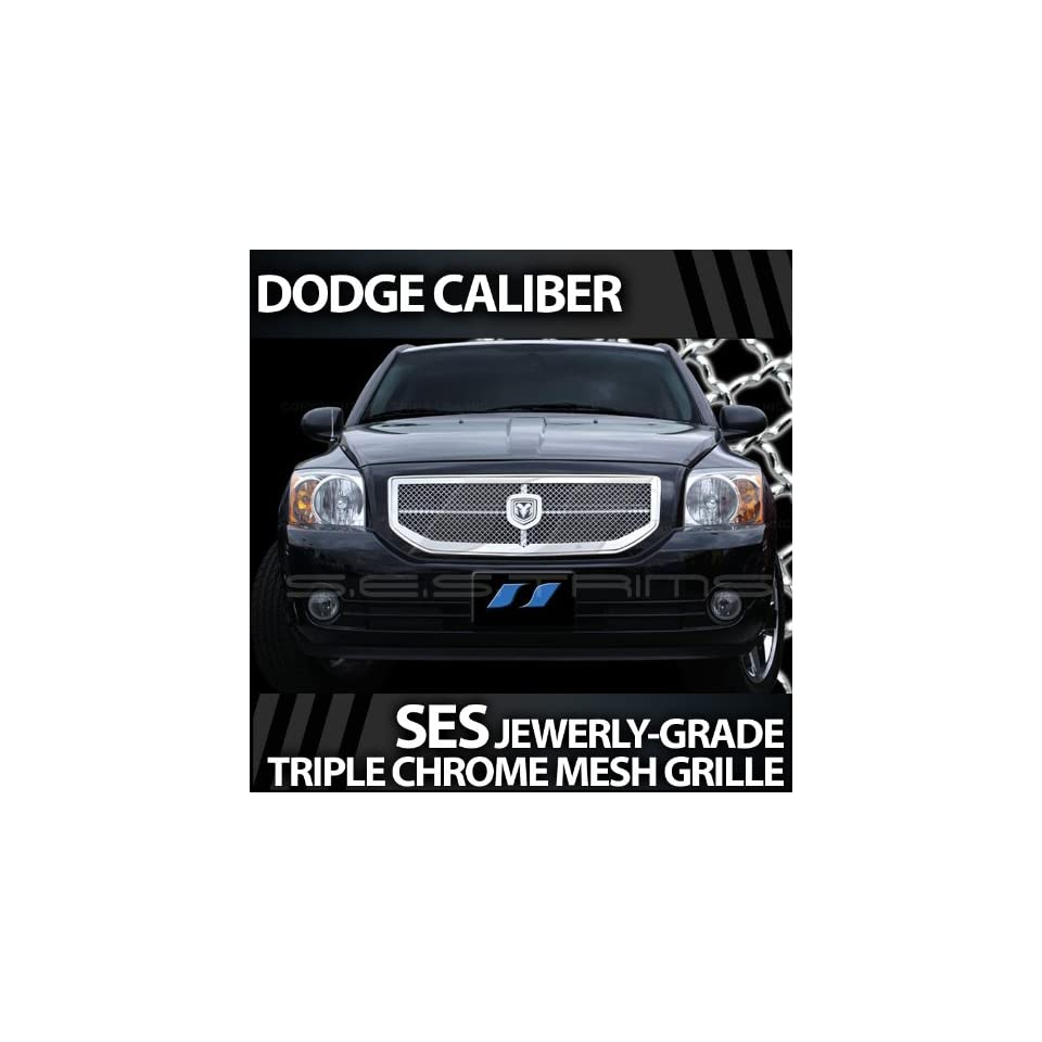 2006 2010 Dodge Caliber SES Chrome Mesh Grille