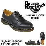 (ドクターマーチン)Dr.Martens 1461 R11838001 3EYE SHOE GIBSON 3ホール シューズ UK6(約25.0~25.5cm) ブラック (並行輸入品)