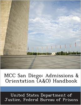 mcc san diego admissions orientation a o handbook federal bureau of prisons. Black Bedroom Furniture Sets. Home Design Ideas