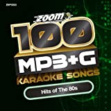 Zoom Karaoke MP3+G Disc - 100 Songs - Hits of The 80s Zoom Karaoke