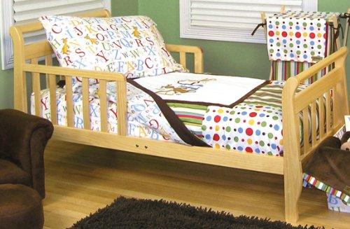 Trend Lab Dr Seuss ABC Toddler Bedding Set, 4 Piece