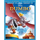 Dumbo: 70th Anniversary Edition - 2-Disc BD Bilingue Combo Pack (BD+DVD) [Blu-ray] (Bilingual)by Ed Brophy, Cliff...