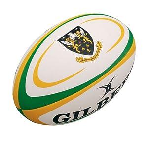 New Gilbert Northampton Saints Rugby English Premiership Replica Balls Midi