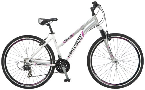 Best Prices! Schwinn Women's GTX-1 700C Dual Sport Bicycle, White/Silver, 16-Inch
