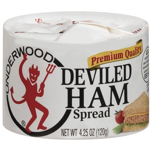 UNDERWOOD DEVILED HAM SPREAD 4.25 OZ (PACK OF 2)