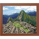 オリムパス製絲 クロスステッチ刺しゅうキット マチュピチュ遺跡 (ペルー) 7438