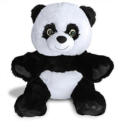 Hashtag Panda Teddy Bear by Build A Furry Friend.