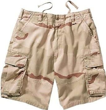 2150 Tri-Color Desert Camo Vintage Cargo Shorts (X-Large)