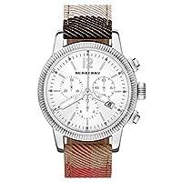 Burberry Chronograph Check Strap Watch 42mm 男性 メンズ 腕時計 並行輸入