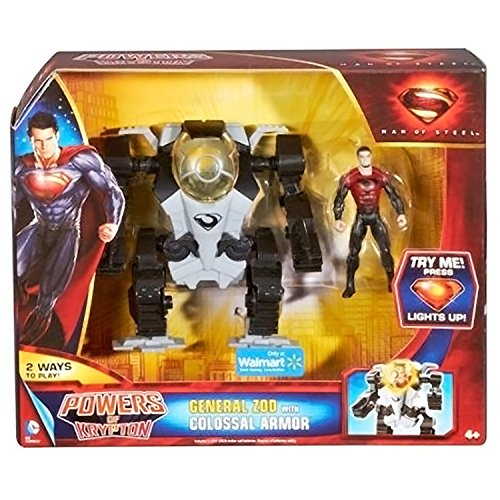 Man of Steel Movie Powers of Krypton Exclusive General Zod
