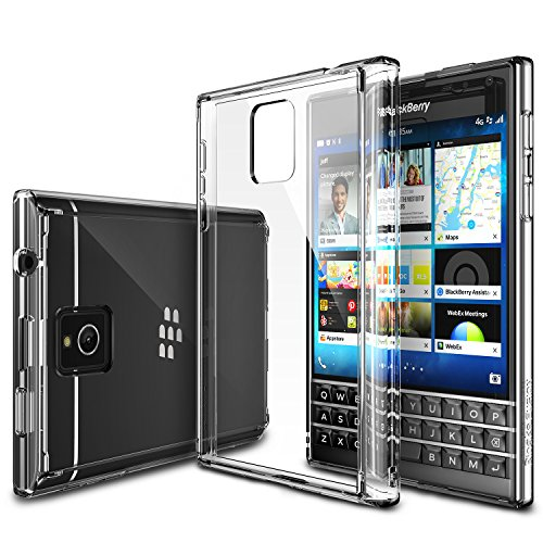 Blackberry-Passport-Case-Ringke-FUSION-Passport-Case-FREE-Screen-ProtectorDrop-ProtectionCLEAR-Shock-Absorption-Bumper-Premium-Hard-Case-for-Blackberry-Passport