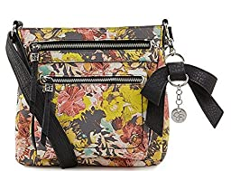 Jessica Simpson Alicia Floral Black Crossbody