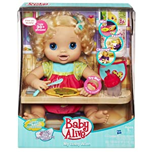 Hasbro Baby Alive My Real Baby Includes Bottle Spoon