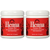 Rainbow Research: Henna Powder Color & Conditioner, Persian Red 4 oz (2 pack)