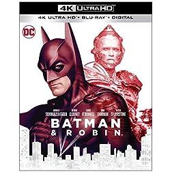 Batman & Robin (1997) [4K Ultra HD + Blu-ray]
