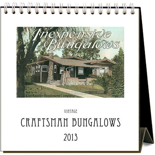 Cheap Craftsman Bungalows 2013 Easel Desk Calendar (B008ATMLHI)