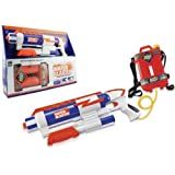 PowerTRC® Water Blaster High Pressure Pump Action Water Gun with Tank, Ultimate Spring/Summer Time Toy, Perfect for Outdoor Fun (White)