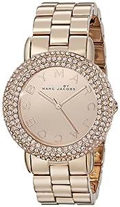 Marc by Marc Jacobs Women's MBM3192 Marci Analog Display Analog Quartz Rose Gold Watch