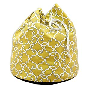 Chooty+%26+Company Chooty & Company Woburn Sunflower 20-Inch Round Laundry Bag with 4 1-Inch Grommets at Sears.com