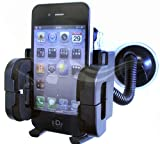 CostMad NEW In Car Mount Cradle Windscreen Holder Suction for Apple iPhone 4 HD 16GB 32GB - works also with case on