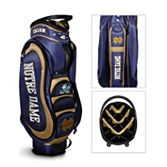 Brand New Notre Dame Fighting Irish NCAA Cart Bag - 14 way Medalist by Things for You