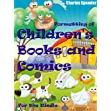 Formatting of Children's Books and Comics for the Kindle ~ Charles Spender