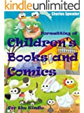 Formatting of Children's Books and Comics for the Kindle