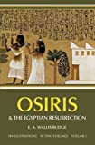 img - for Osiris and the Egyptian Resurrection, Vol. 1 book / textbook / text book