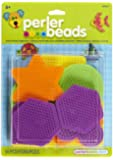 Perler Beads Small Basic Shapes Pegboards- 14 Count
