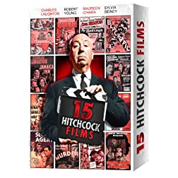 15 Alfred Hitchcock Movies (Gift Box)