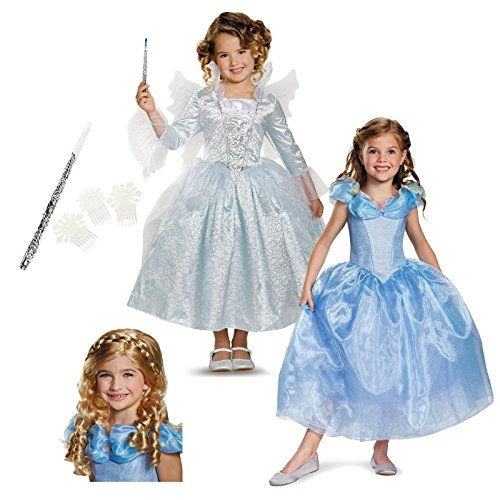 Cinderella + Fairy Godmother Child Costume Kit Toddler
