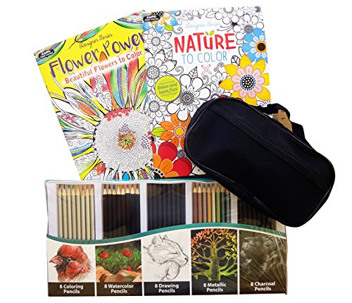 best-adult-coloring-books-colored-watercolor-pencils-case-gift-set-trendy-unique-clever-fun-cool-sto