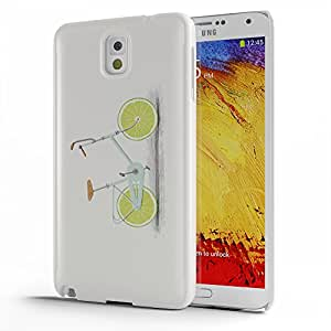 Koveru Back Cover Case for Samsung Galaxy Note 3 - Lemon Bicycle