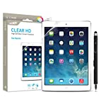 Ipad Air 1 and 2 Screen Protector Clear Hd Sentey® High Definition Tablet Ls-14113 Bundle with Free Metal Stylus Touch Screen Pen {Lifetime Warranty}