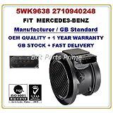 Mercedes-Benz C-Class CLK200, SLK200, E200,C180 C200 C230 Kompressor Flussometro Sensore Massa Aria 5WK9638Z
